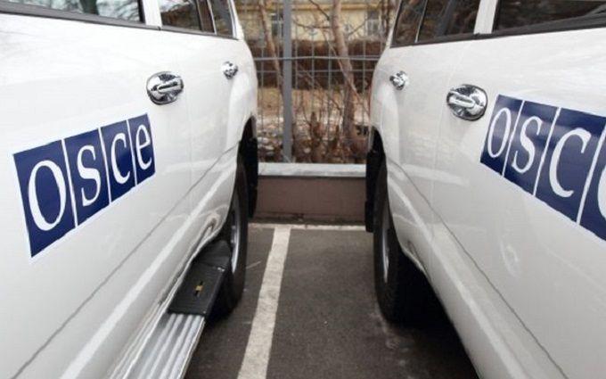 Спостерігачі ОБСЄ зловили бойовиків на обмані