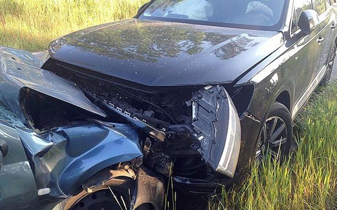 """ДТП з чиновником """"Укрзалізниці"""": з'явилися відео розмови з винуватцем аварії"""