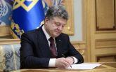 Порошенко подписал закон, необходимый для суда над Януковичем