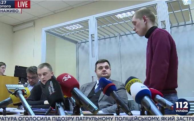 Смертельная погоня в Киеве: суд арестовал полицейского