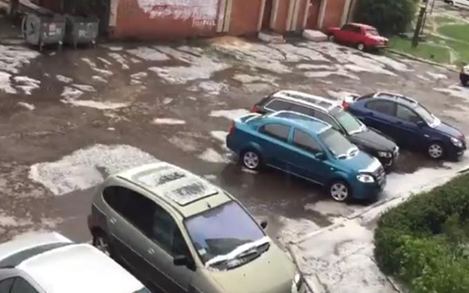 В Україні випав сніг: опубліковані відео