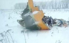 Авиакатастрофа Ан-148 в России: опубликовано первое видео с места происшествия