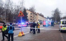 В Финляндии машина врезалась в толпу людей: появились фото и видео