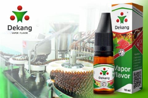 Dekang стал первой сертифицированной жидкостью для электронных сигарет в Украине