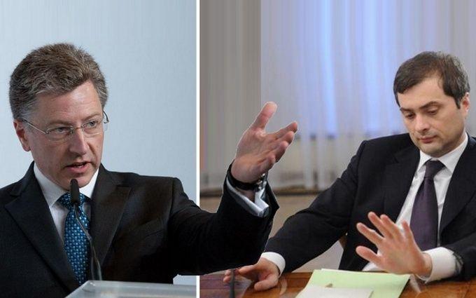 Различные концепции мира: Волкер не смог договориться с Сурковым