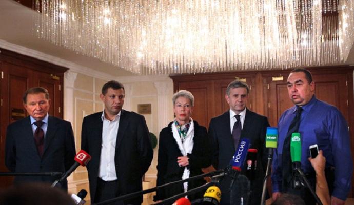 Трехсторонняя контактная группа начала заседание в Минске