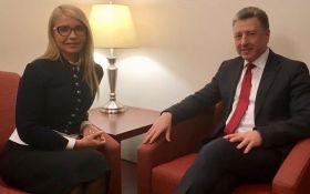 Волкер встретился с Тимошенко в США