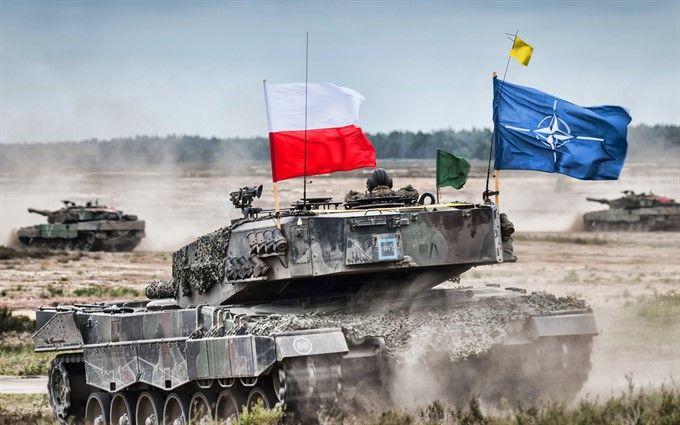 США перекидають танки в Польщу та країни Балтії
