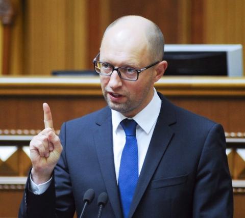 Яценюк розповів, через що українцям не бачити віз і траншу МВФ