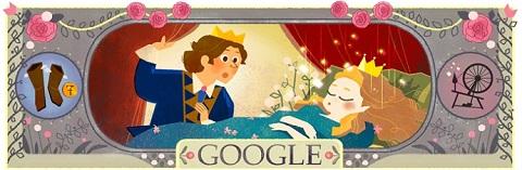 Google приурочил тематические дудлы ко дню рождения Шарля Перро (2)
