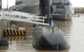 Зникнення підводного човна в Аргентині: голову ВМС відправили у відставку
