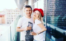 Ступка и Логунова покрестили свою дочь