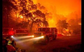 Лесные пожары в Калифорнии: погибли 23 человека