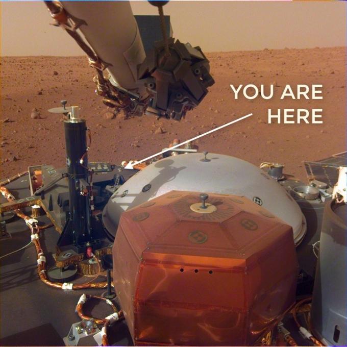 Шум вітру і перше селфі: NASA опублікувало сенсаційні записи з Марса (1)