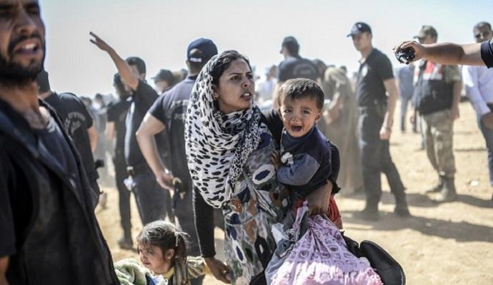 За три дня в Турцию бежали более трех тысяч сирийских турков