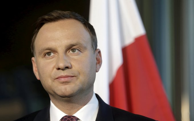 """Дуда прокомментировал заявление Медведева о """"холодной войне"""""""