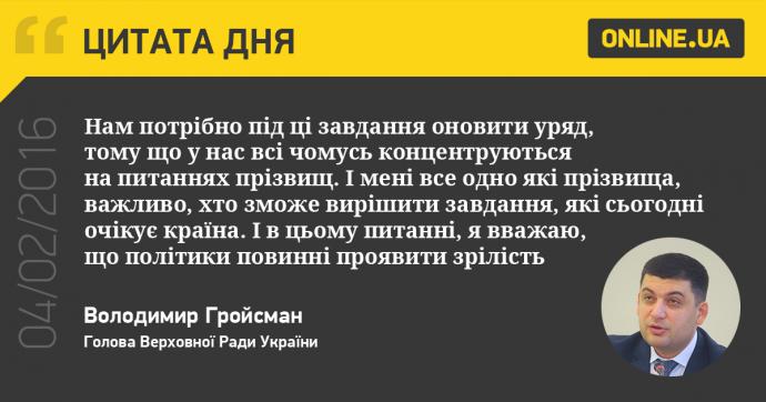 4 февраля в Украине и мире: главные новости дня (1)