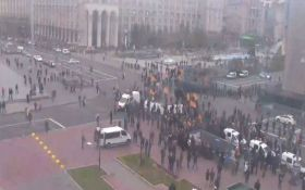 Бійки з поліцією в центрі Києва: з'явилися нові подробиці