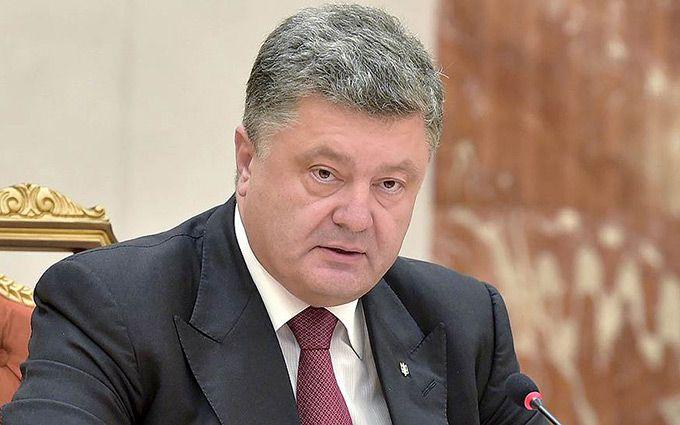 Порошенко дорікнув колегам і подякував Путіну