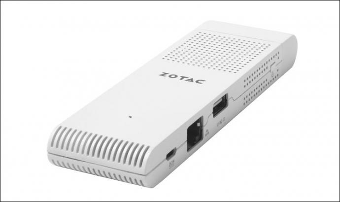 Компания Zotac представила мини-ПК PC Stick