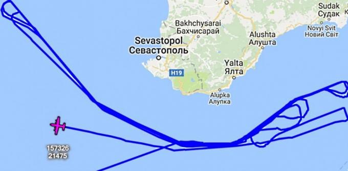 Военные самолеты США провели новую разведку над Крымом и Балтикой (2)