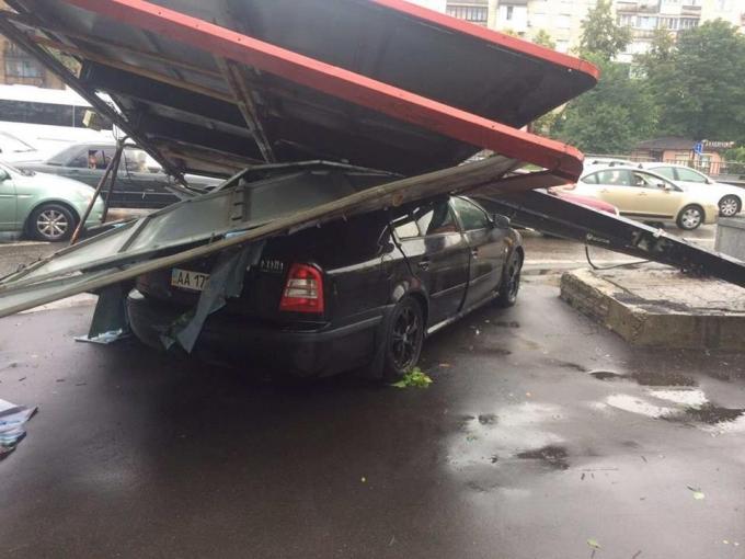 Непогода в Киеве: появились новые фото ужасных последствий ливня (3)
