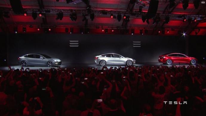 Tesla представила новый электромобиль Model 3: опубликовано фото и видео (1)