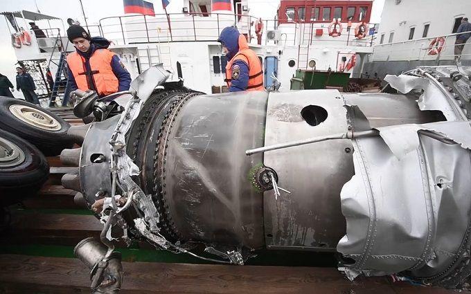 Гибель Ту-154 в России: следствие определилось насчет громкой версии