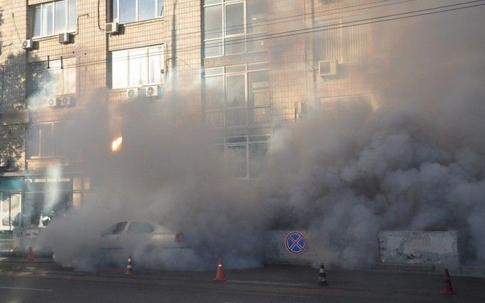 Вогонь, стрілянина і вибухи: СБУ показала яскраве відео навчань в Києві