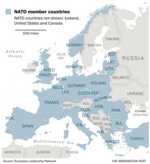 Росія перевіряє, чи вийде у неї вторгнення в країни НАТО - The Washington Post (2)