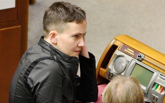 """Савченко взорвала соцсети """"причиной"""" войны на Донбассе"""