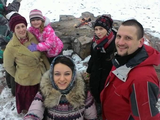 В Киеве провели ритуал сожжения зимы: опубликовано видео (1)