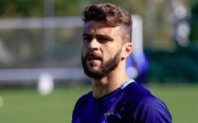 Мораес впервые надел форму сборной Украины - фотофакт