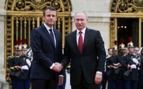 Разгневанный Макрон и застенчивый Путин - западные СМИ о встрече в Париже