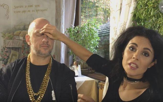Каменських показала, як гримує Потапа: з'явилося відео