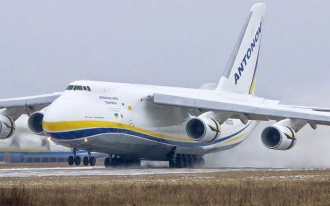 Український літак-гігант потрапив в американський серіал