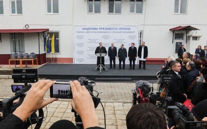 Порошенко подписал указы ореорганизации местных судов