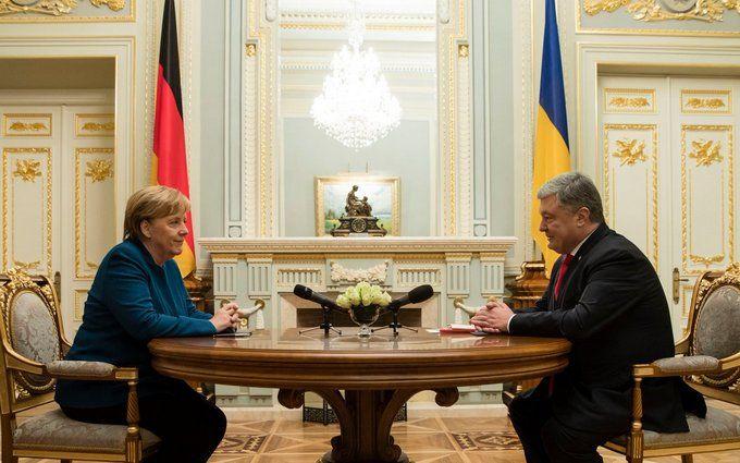 Німеччина буде на боці України: головні підсумки переговорів Порошенко і Меркель в Києві