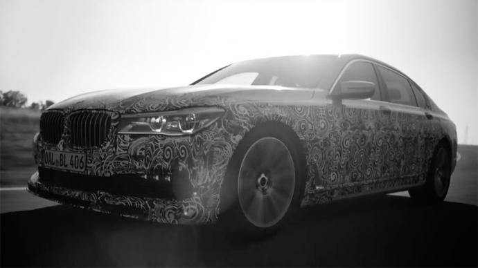 Alpina показала тизер нового «заряженного» BMW 7-Series (видео)