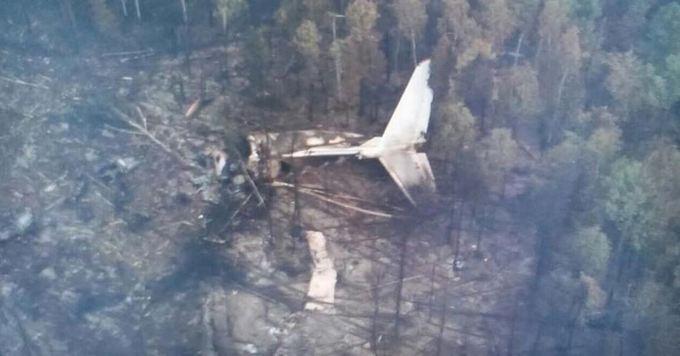 У Росії знайшли літак, що зазнав катастрофи: опубліковані фото і відео (1)