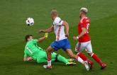 Россия - Уэльс - 0-3: видео голов матча Евро-2016