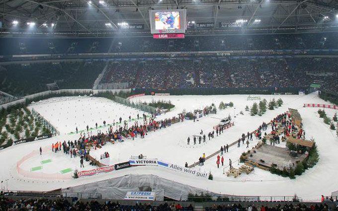 Германский дубль вРождественской гонке, украинцы— девятые