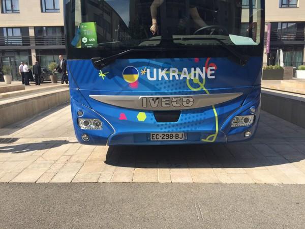 Автобус збірної Росії на Євро-2016 підірвав інтернет: з'явилося фото (2)