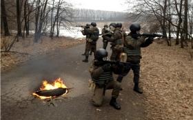 Українські військові провели тренування: опубліковані фото
