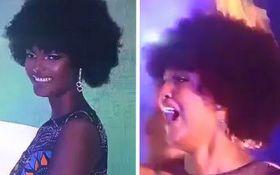 """""""Міс Африка - 2018"""" раптово загорілася на сцені: відео моторошного курйозу на конкурсі краси"""