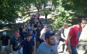 """""""Азов"""" зірвав захід комуніста Симоненка: опубліковані фото"""
