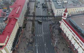 День Свободы в Минске показали с высоты птичьего полета: появилось видео