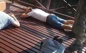 """Стало известно о сорванной сходке """"воров в законе"""" под Киевом: опубликованы фото и видео"""