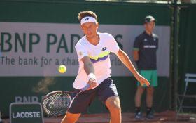 Украинский теннисист-патриот вышел во второй круг Roland Garros