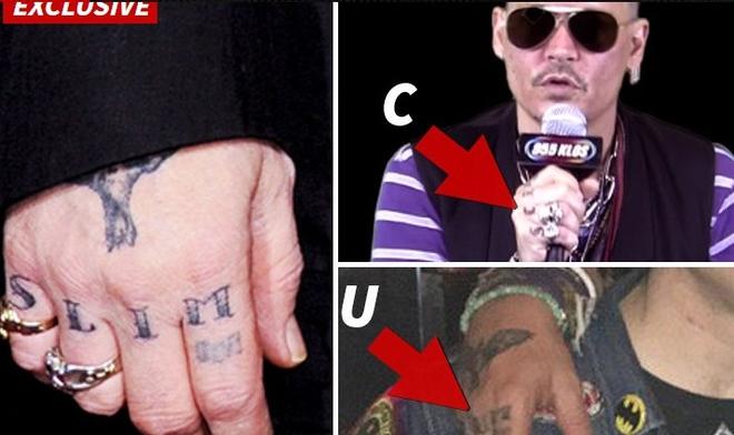 Джонні Депп помстився колишній дружині татуюванням: опубліковано фото (1)